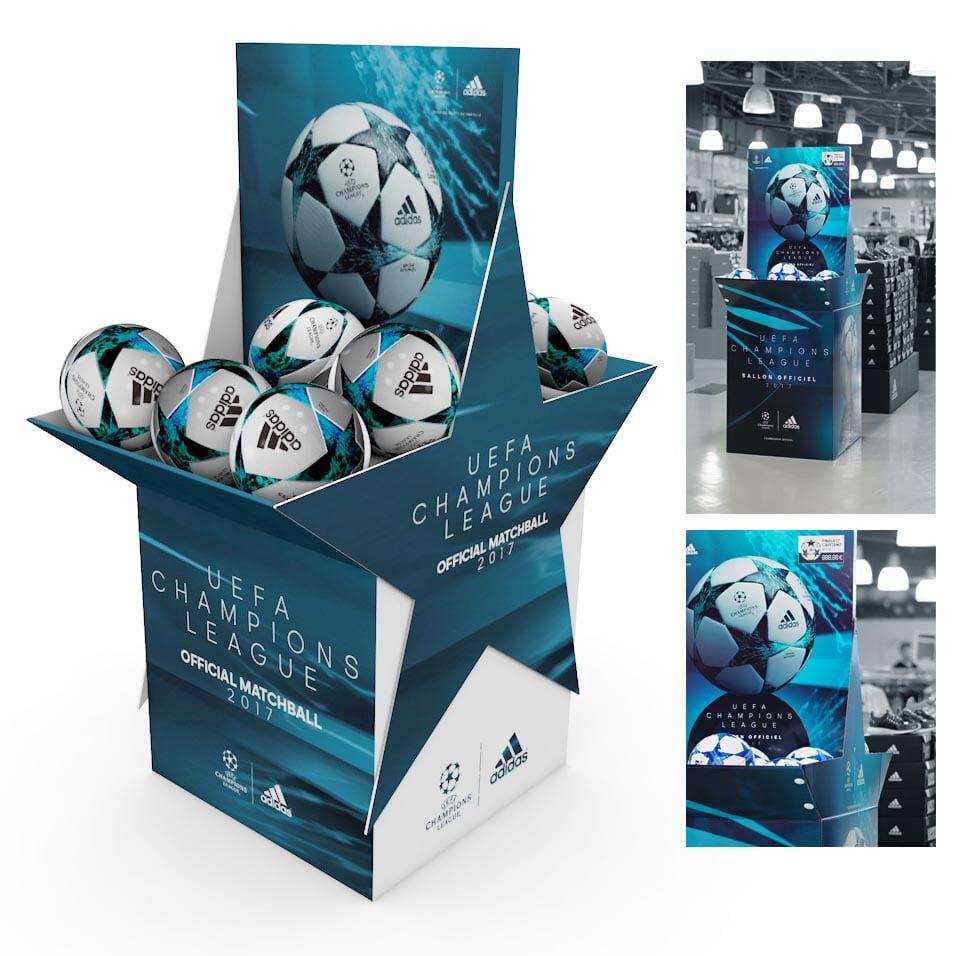 box palette ballon adidas UCL