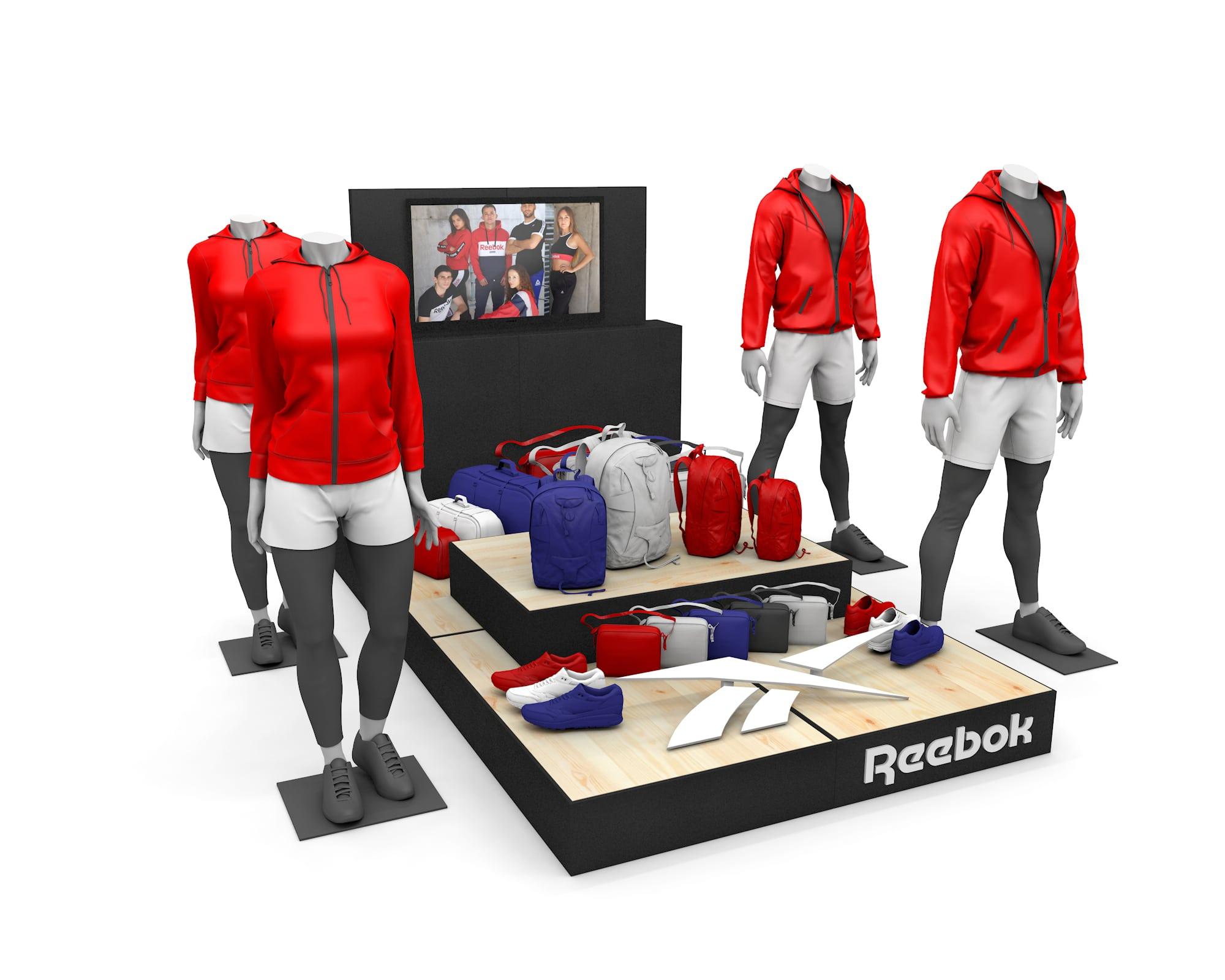 zone event reebok show room