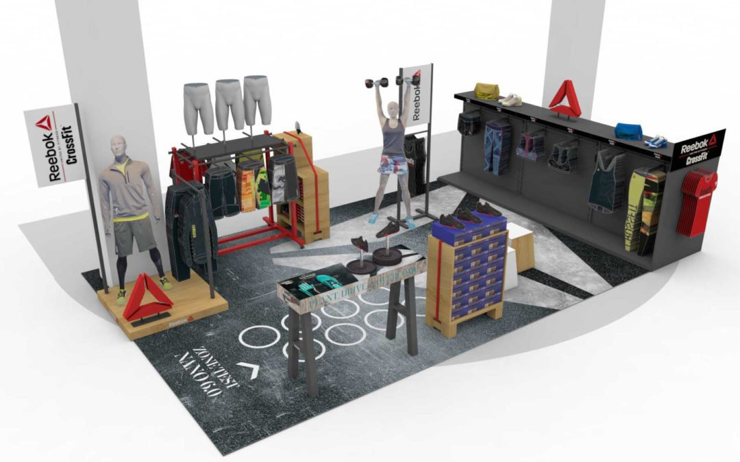 Shop in shop Reebok Crossfit chez Go Sport