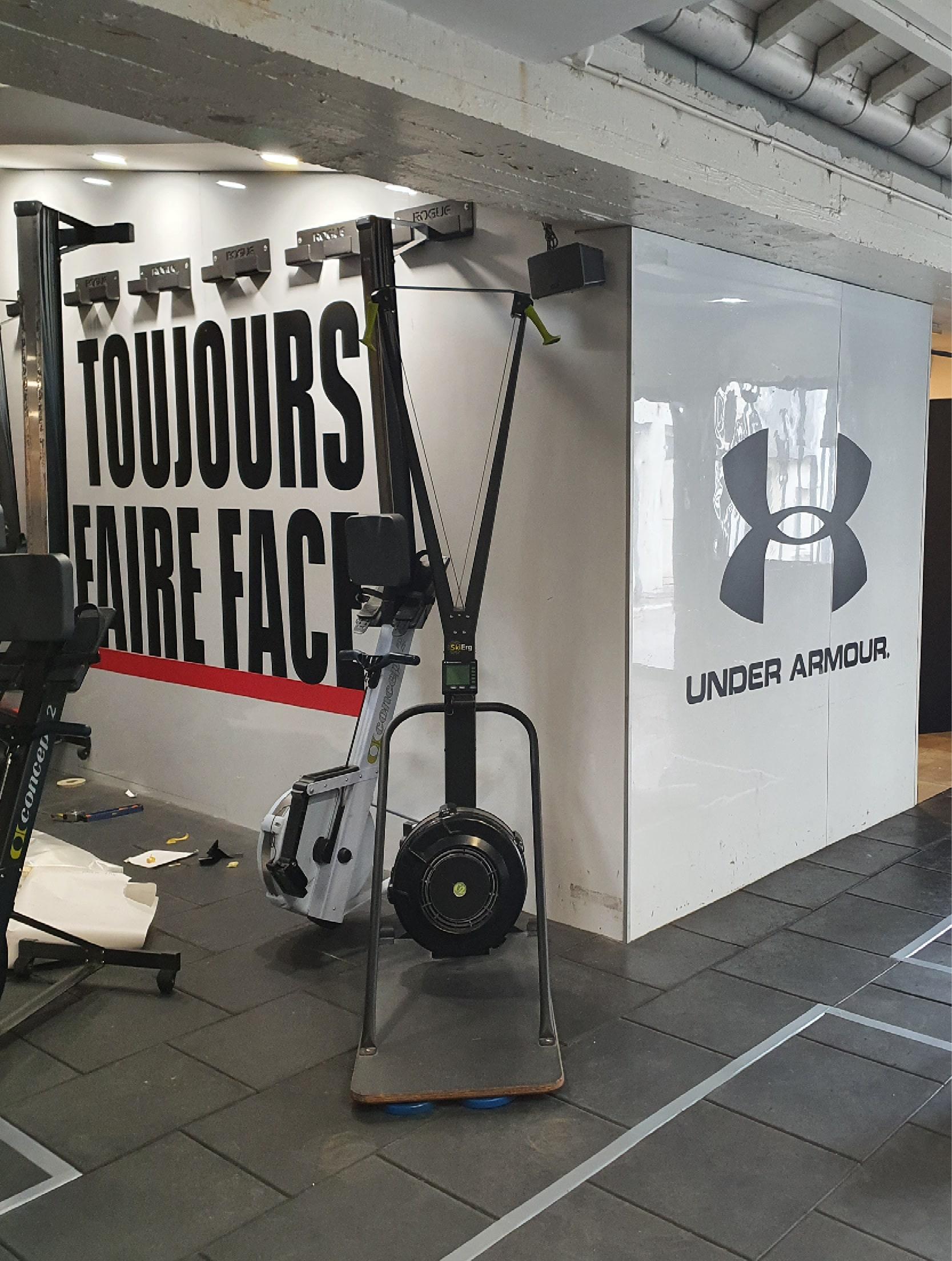 R2 Gym Underarmour l'annexe